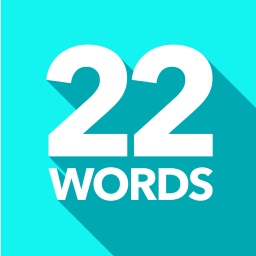 The logo of 22words