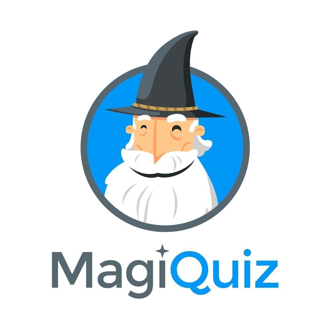 The logo of Magiquiz