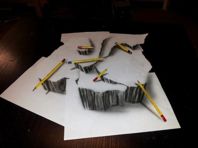 3D Pencil Sketches - 03