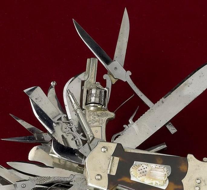 John Holler's 100-function Multi-tool, 1880 - 02