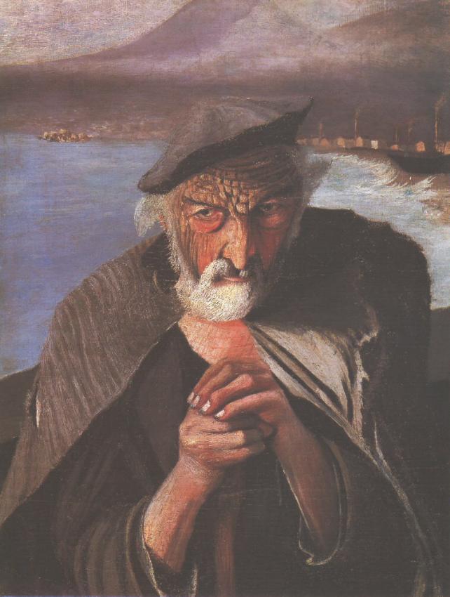 Old Fisherman - Original